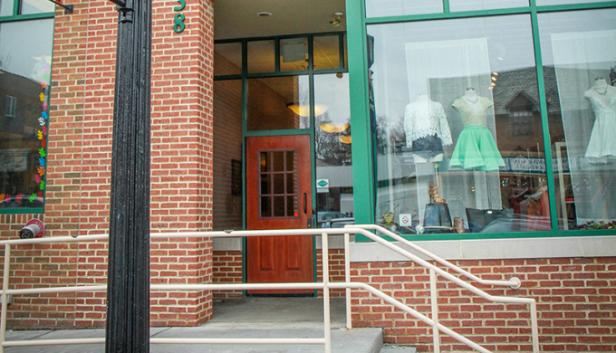 Main St Entrance