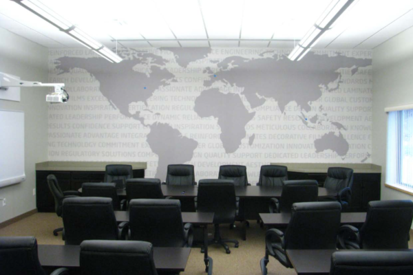 Showing conference room