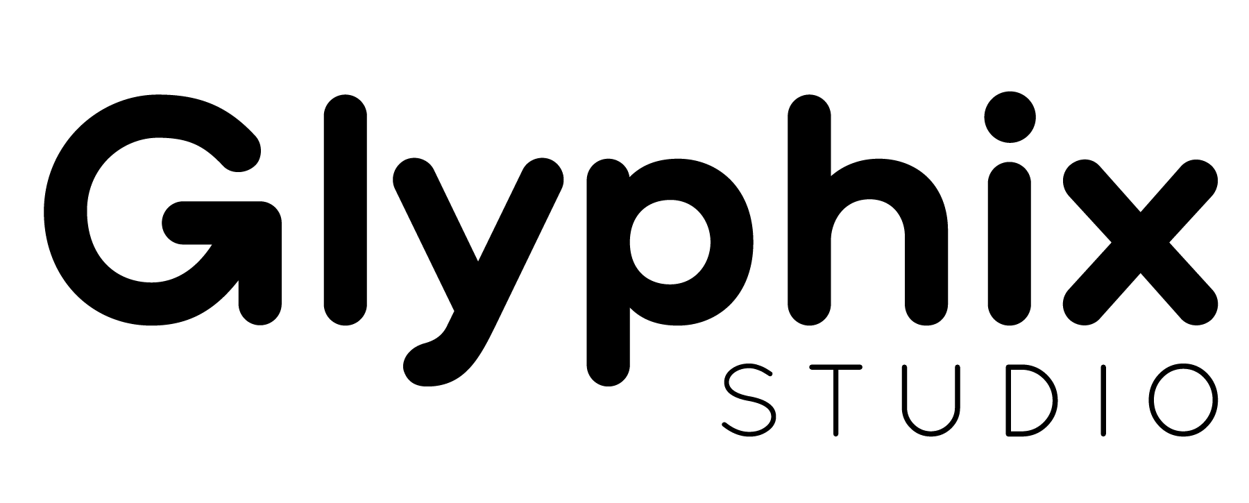 Glyphix Logo Black 01