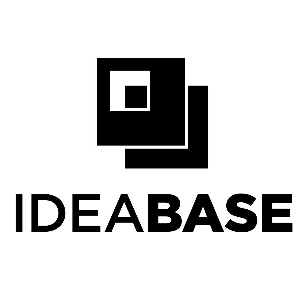 Idea Base Logo Vertical Black