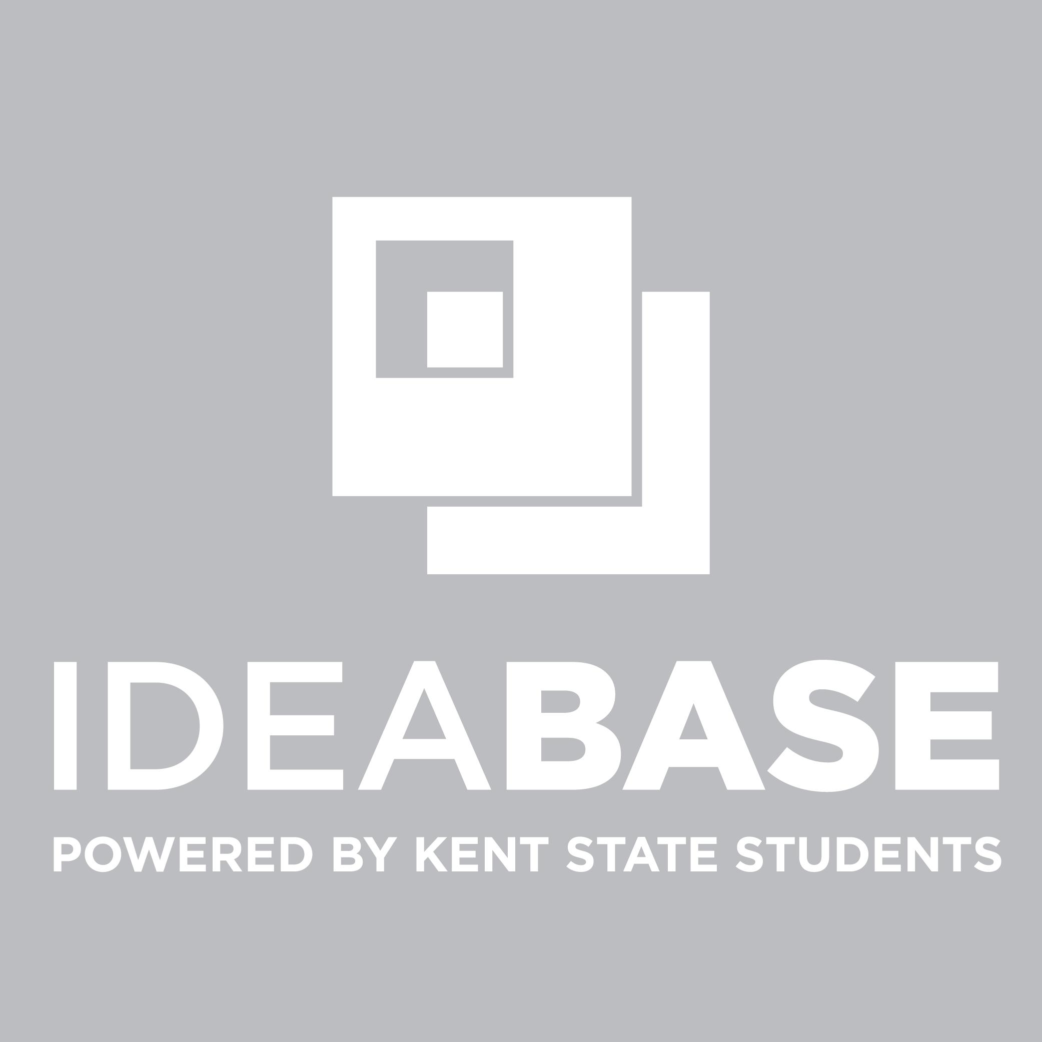 Idea Base Logo Vertical Tag White